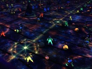 Comet Arena (star field)