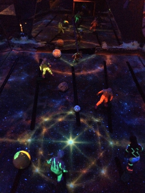 Comet Arena (stars begin)