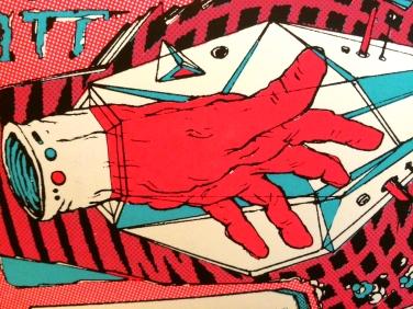 Cybro-Mitt (detail)