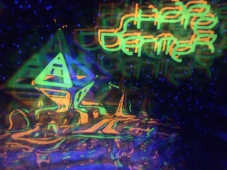 SD Book Cover (UV prism diffraction detail)